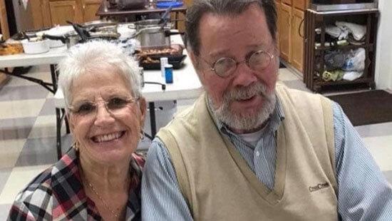 photo of Sarah and Jerry Wayne